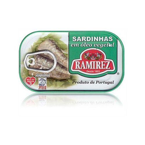 Ramirez Sardynki portugalskie w oleju roślinnym 125g.