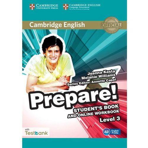 Cambridge English Prepare! 3 Student's Book - Wysyłka od 3,99, oprawa miękka