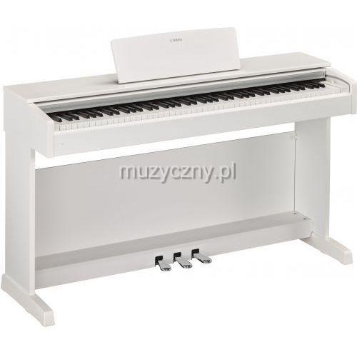 ydp 143 white arius pianino cyfrowe, kolor biały marki Yamaha