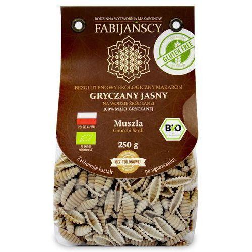 Fabijańscy (makarony) Makaron (z białej gryki) muszla gnocchi sardi bezglutenowy bio 250 g - fabijańscy