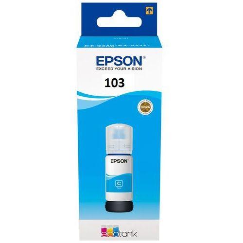 Epson Tusz et103 cyan do drukarek (oryginalny) [65ml]
