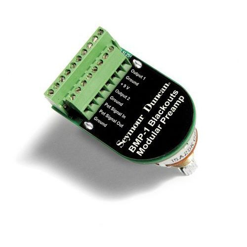 bmp-1 blackouts preamp z potencjometrem o szyjce (10mm) marki Seymour duncan