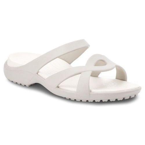 Klapki CROCS - Meleen Twist Sandal W 202497 Pearl White/Oyster, w 2 rozmiarach
