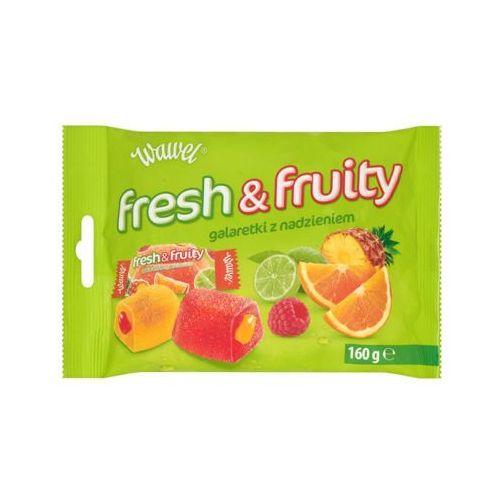 160g fresh & fruity galaretki z nadzieniem marki Wawel