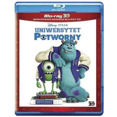 Uniwersytet potworny 3D (Disney Pixar) (2Blu-ray) (Płyta BluRay) (7321917501422)
