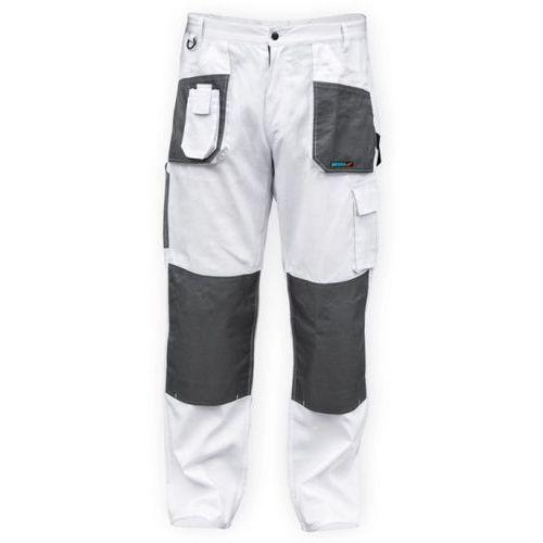 Spodnie ochronne DEDRA BH4SP-M Biały (rozmiar M/50) + Zamów z DOSTAWĄ W PONIEDZIAŁEK!