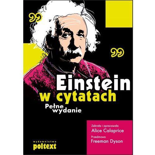 EBOOK Einstein w cytatach Pełne wydanie (2012)