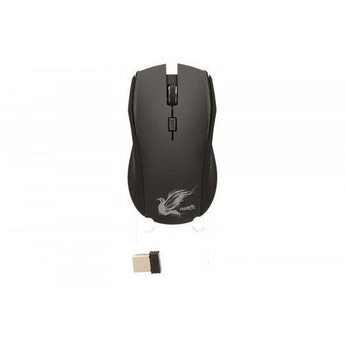 Mysz z cichym klikiem blackbird optyczna bezprzewodowa nano 2.4ghz marki Natec
