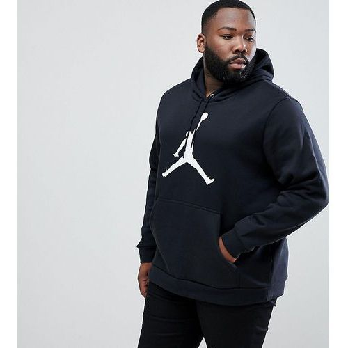 Nike Jordan PLUS Flight Fleece Pullover Hoodie In Black AH4507-010 - Black, kolor czarny