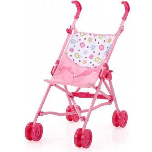 Mini wózek dla lalek Spring Pink