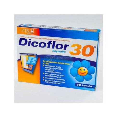 Dicoflor 30 x 10 kaps.d/dzieci (artykuł z kategorii Prebiotyki i probiotyki)