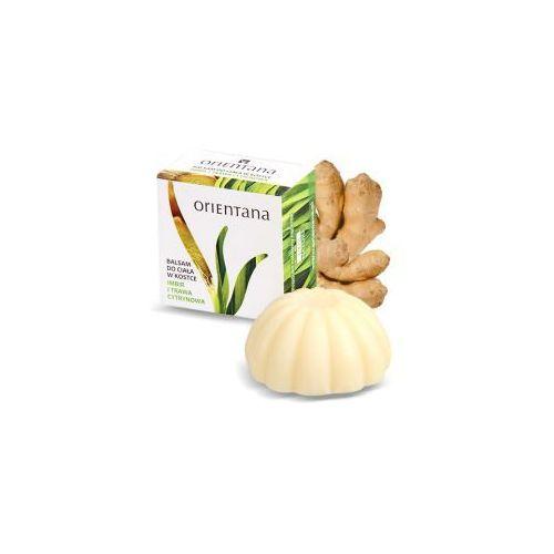 Orientana Balsam do ciała w kostce - Imbir i trawa cytrynowa Balsam do ciała w kostce - Imbir i trawa cytrynowa