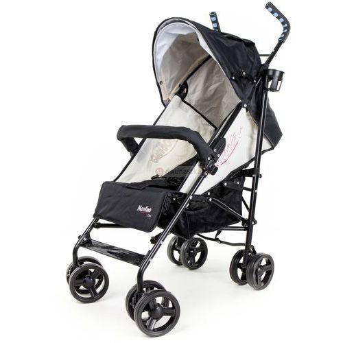 Wózek spacerówka City A czarno-srebrny, A815A