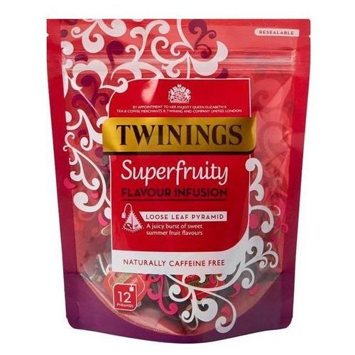 Twinings 12 super fruity loose leaf pyramids