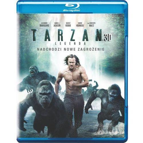 Tarzan: legenda (2bd 3-d) futurepack (płyta bluray) marki David yates