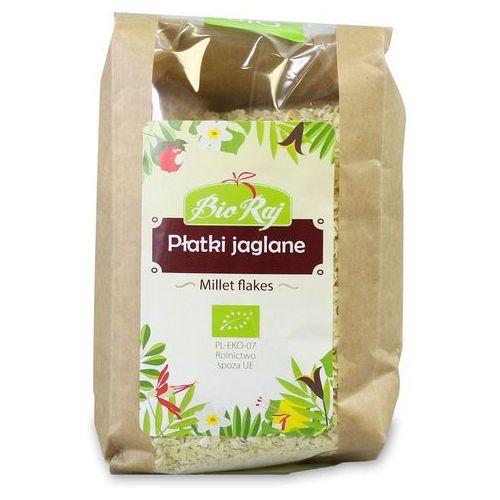 Płatki jaglane bio 200 g bio raj marki Bio raj (konfekcjonowane)