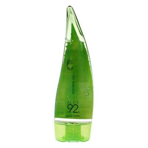 Holika Holika Aloe 92% Shower Gel - Żel pod prysznic z 92% zawartością soku z aloesu 250ml, 8806334353988