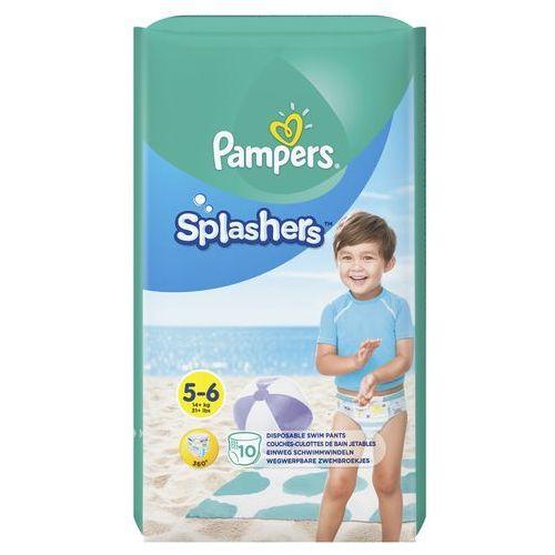 Pampers splashers, r5-6, 10 jednorazowych pieluch do pływania (8001090728951)
