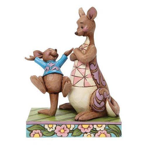 Mama kangurzyca i maleństwo bajka kubuś puchatek look mama. i bounced 4045253 figurka ozdoba świąteczna marki Jim shore