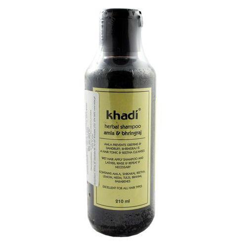 Szampon do włosów amla bhringraj 210ml marki Khadi