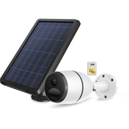 Kamera zewnętrzna IP bezprzewodowa z własnym zasilaniem akumulatorem oraz panelem solarnym LTE 4G 3G PIRI, HSIC18002