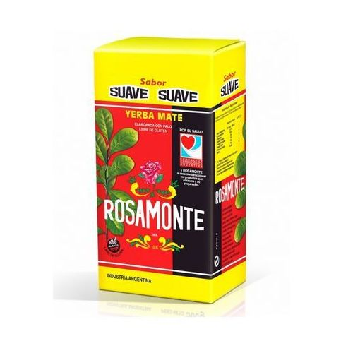Yerba mate rosamonte, argentyna Yerba mate rosamonte suave łagodna 1000g
