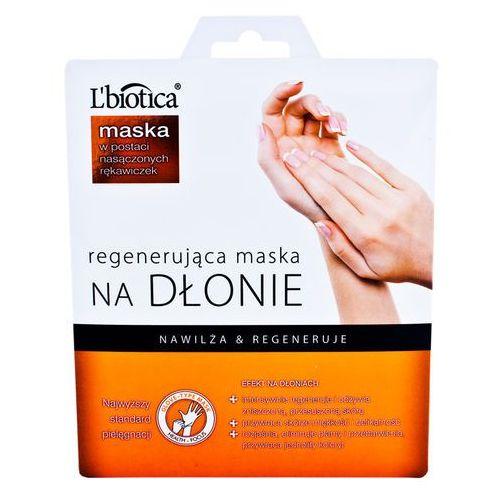 L'Biotica Maska NA DŁONIE - Maska regenerujaca i nawilżająca na dłonie - maska rękawiczki 1 para = 2, 5907636934233