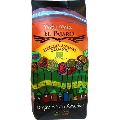 Yerba mate El Pajaro Energia Ananas Organic 400/1000g, ep_en_an
