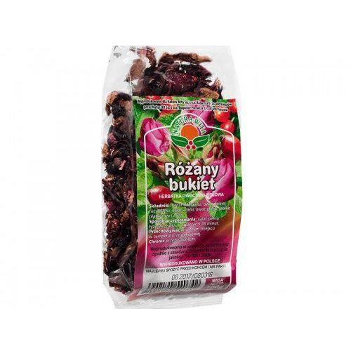 Herbatka różany bukiet - hibiskus, dzika róża, aronia, głóg - natur vit -100g marki Natur-vit
