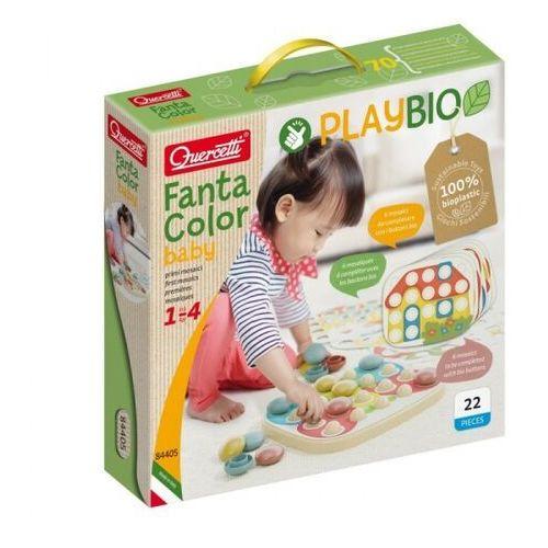 Quercetti Układanka playbio fantacolor baby (040-84405). od 12 miesięcy (8007905844052)