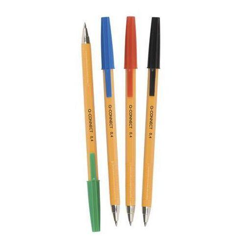 Długopis q-connect 0,4mm zielony