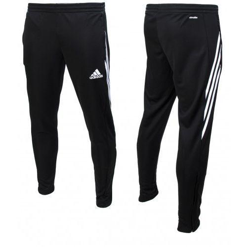 Spodnie Adidas dresowe chlopiece dresy Sereno D82941, 3645