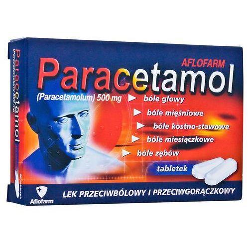Paracetamol Aflofarm tabl. 0,5 g 20 tabl. (2 blist.po 10 szt.) (tabletki)