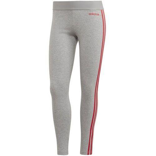 Legginsy damskie adidas Essentials 3 Stripes szare FM6702