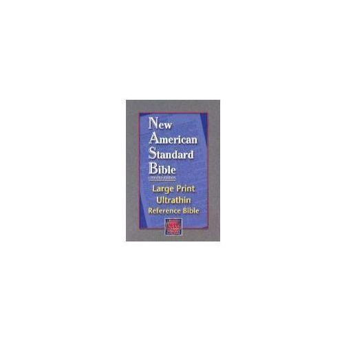 Large Print Ultrathin Reference Bible-NASB
