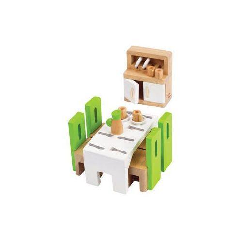 Wyposażenie domku dla lalek - jadalnia, Hape z Mall.pl