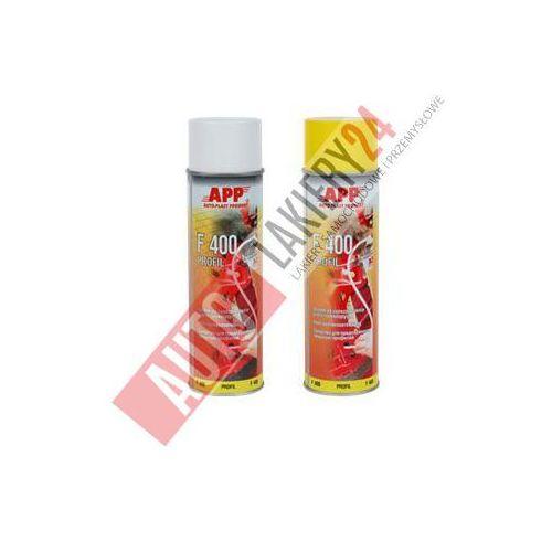 APP Preparat do zabezpieczenia profili zamkniętych F400 0,5L spray przezroczysty - produkt z kategorii- mleczka do karoserii