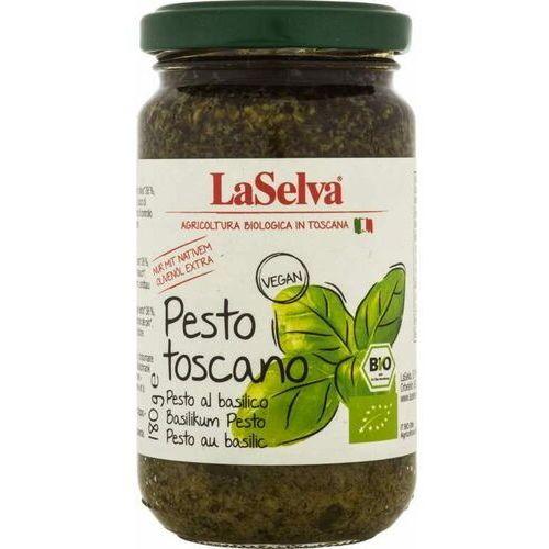 Laselva Pesto z bazylii bio 180 g -
