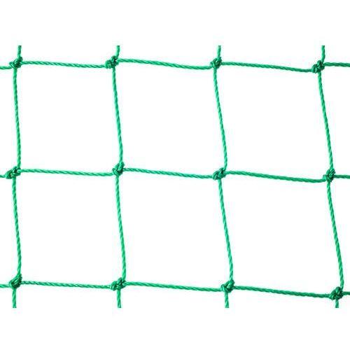 Zielona siatka ochronna przed jastrzębiem. Siatka przeciw jastrzębiom. Oczko 100x100mm