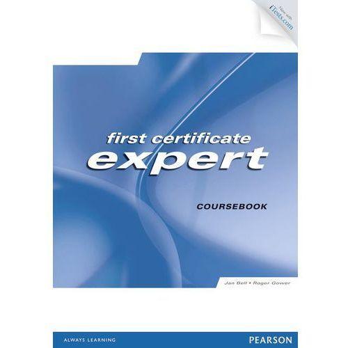 First Certifitate expert Coursebook + CD-ROM + iTests, oprawa miękka