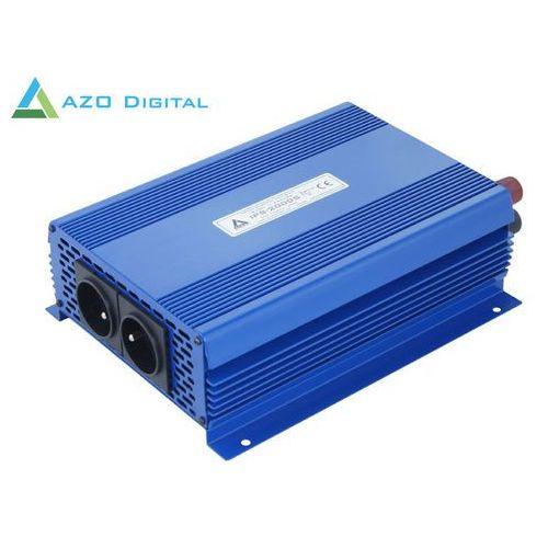 Przetwornica napięcia 24 vdc / 230 vac eco mode sinus ips-2000s 2000w marki Azo digital