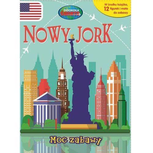 Nowy Jork. Moc zabawy. 12 figurek i mata do zabawy - Praca zbiorowa (10 str.)
