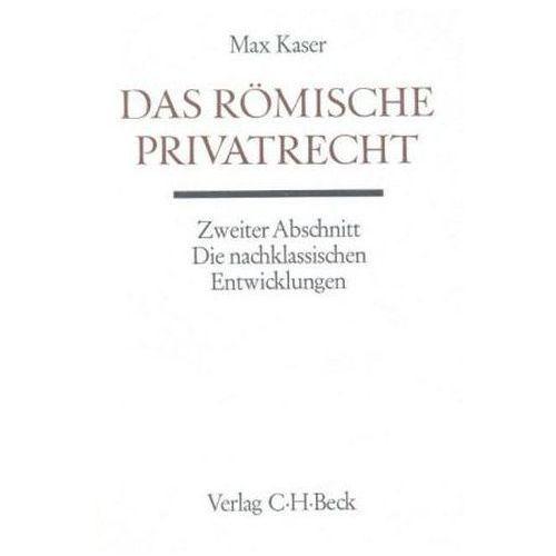 Das römische Privatrecht. Abschn.1 (9783406014062)