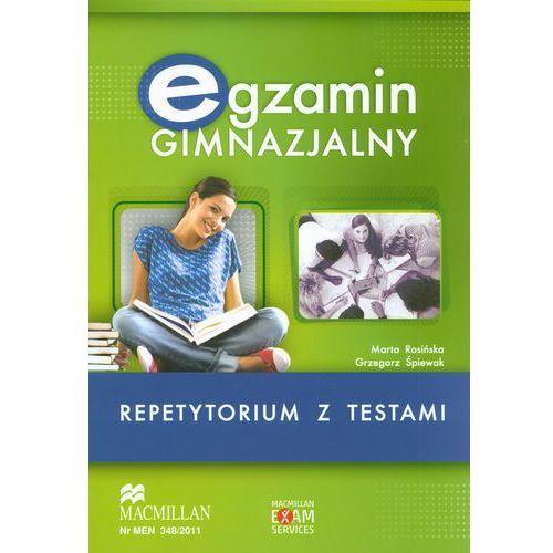 Egzamin Gimnazjalny Repetytorium z testami z płytą CD, MACMILLAN