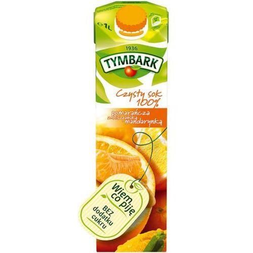 Sok 1l. - pomarańczowy z hiszp.mandarynką marki Tymbark