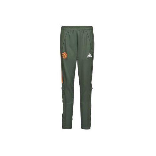 Spodnie dresowe adidas MUFC TR PNT, kolor zielony