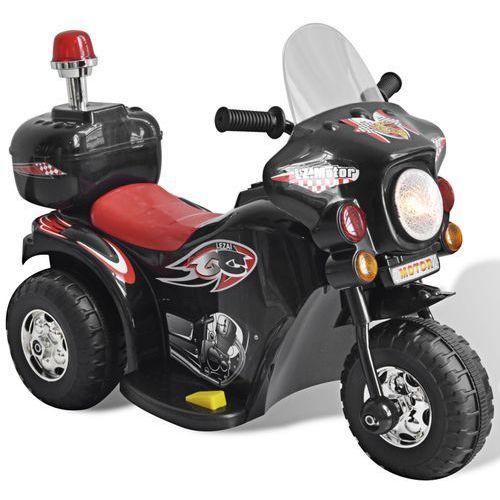 vidaXL Motocykl zasilany na baterię (czarny)