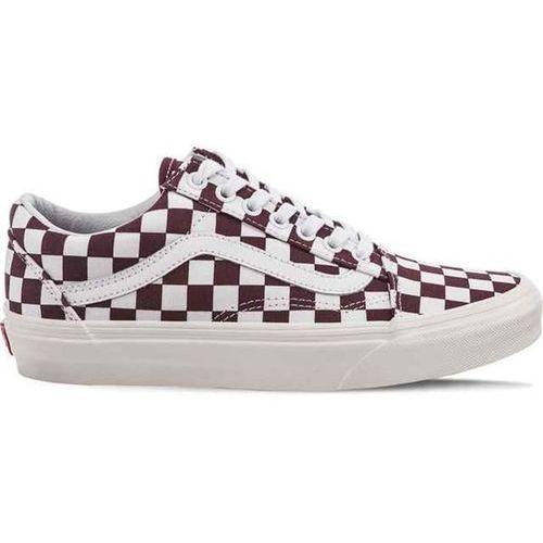Vans old skool u54 checkerboard port royale - buty sneakersy (0191932803804)