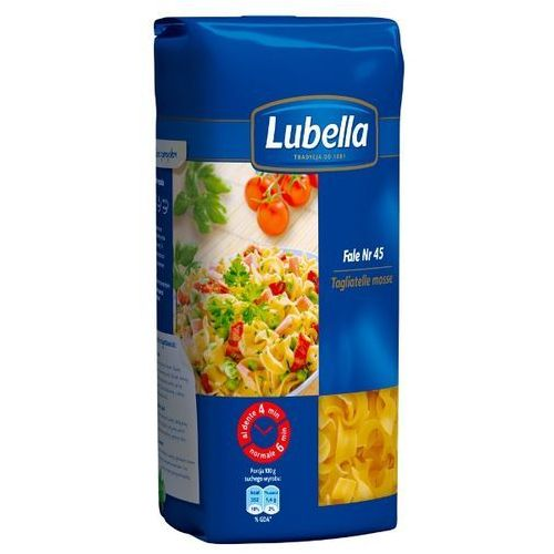 Makaron fale tagliatelle mosse 400 g marki Lubella
