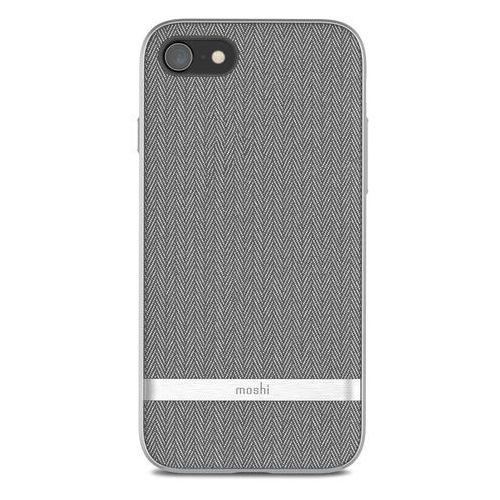 Moshi vesta - etui iphone 8 / 7 (herringbone gray) (4713057253225)